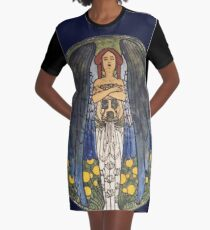 Kolo Moser's Beauty Graphic T-Shirt Dress