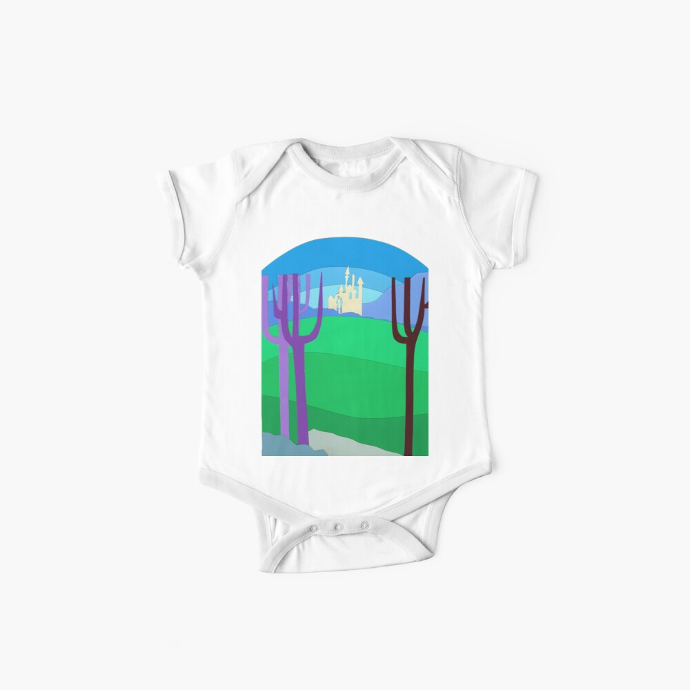 Castillo distante Bodies para bebé
