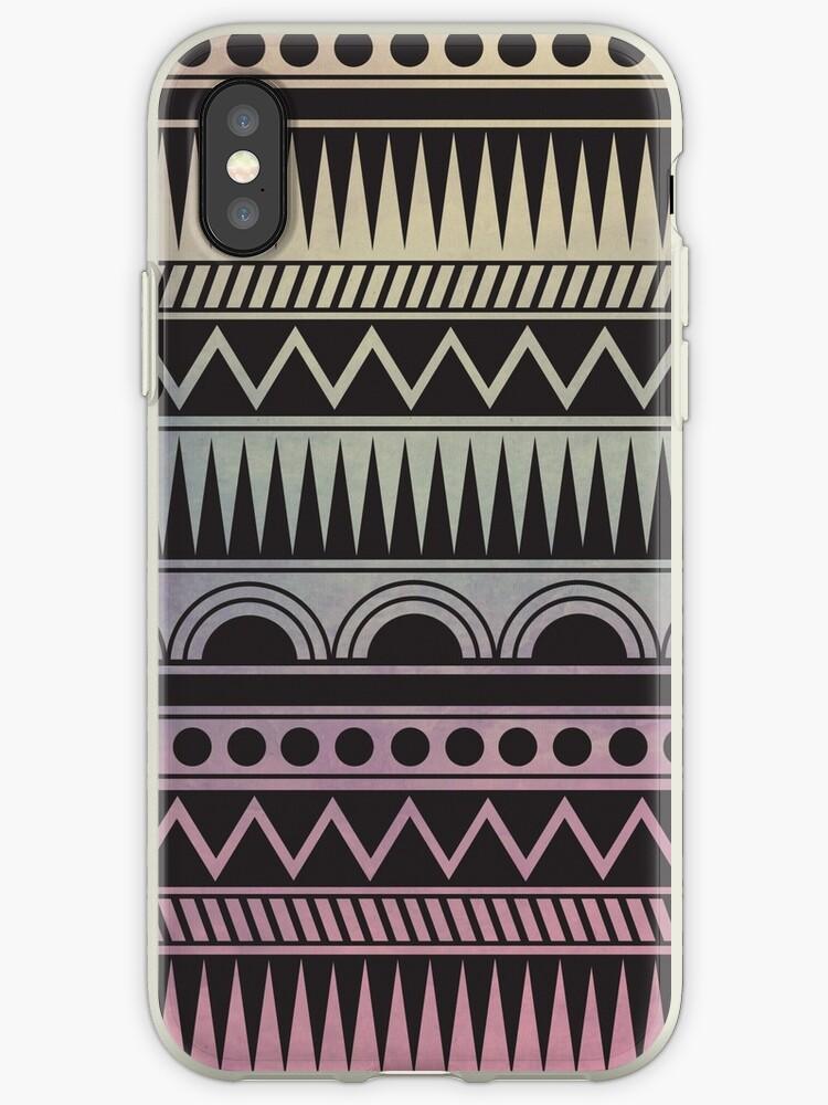 Aztec Design - Ombre by emilysmithart
