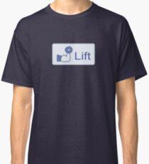 Lift  (horizontal logo) Classic T-Shirt