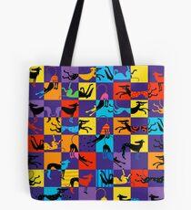 Pop Art Hounds Tote Bag