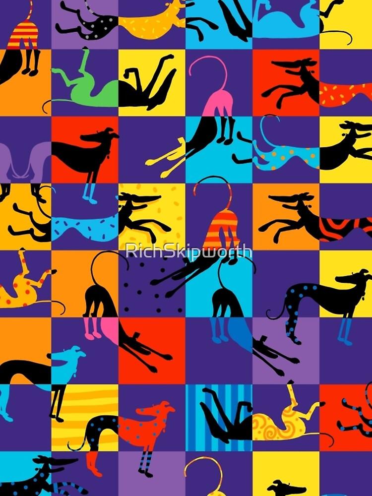 Pop Art Hounds by RichSkipworth