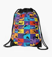Pop Art Hounds Drawstring Bag