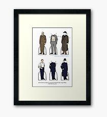 Lestrade/Wilkins Paper Dolls Framed Print