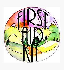 First Aid Kit Photographic Print