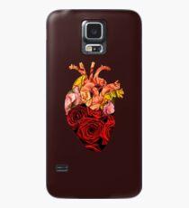 Funda/vinilo para Samsung Galaxy Rose tinted heart