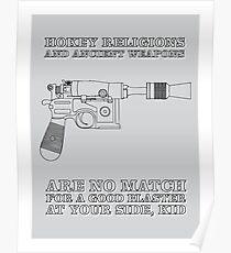 Han Solo - Blaster Poster
