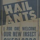 Hail Ants! by SixPixeldesign