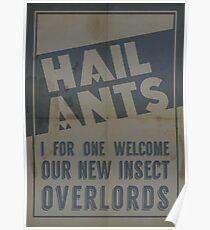 Hail Ants! Poster