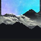 echo mountains blue by Dirk Wuestenhagen