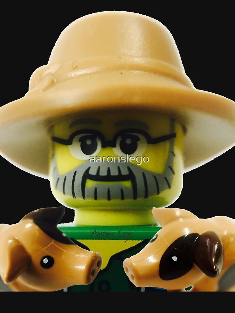 Lego Farmer minifigure by aaronslego