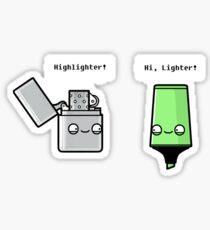 Highlighter Sticker