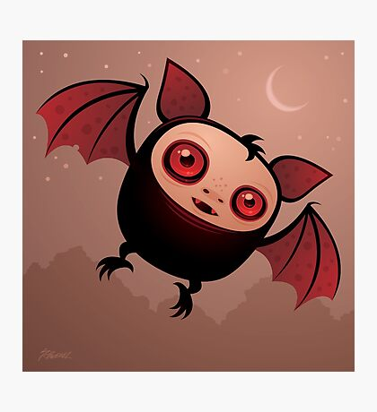 RedEye the Vampire Bat Boy Photographic Print