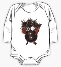 Analog Media Abstract Eco Art Silly Funny OMG LOL  One Piece - Long Sleeve