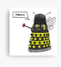 Bee Dalek  Canvas Print