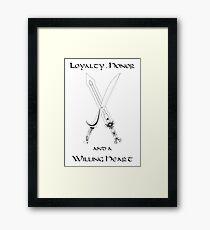 Thorin Oakenshield : Loyalty Framed Print