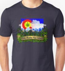 Rocky Mountain High Colorado Flag Cannabis Marijuana Herb T-Shirt