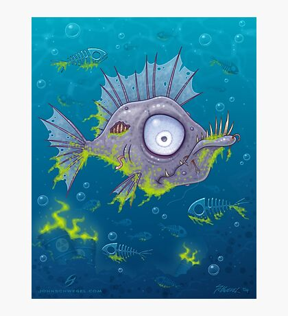 Zombie Fish Photographic Print