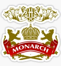 The Monarch Coat-of-Arms Sticker