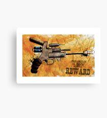 Raygun Canvas Print