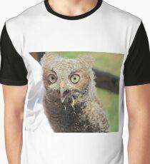 Baby screech owl Graphic T-Shirt