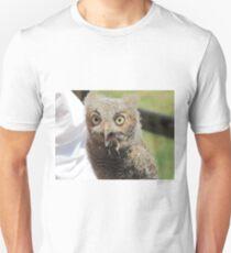 Baby screech owl Unisex T-Shirt