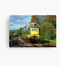 D9009 'Alycidon', Severn Valley Railway Canvas Print