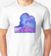 Ute Mountain, in Purple T-Shirt