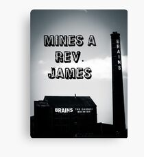 The Rev. James Art Canvas Print
