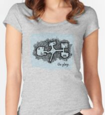 GO PLAY already Women's Fitted Scoop T-Shirt