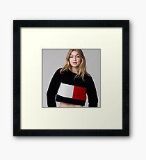 Gigi Hadid Framed Print