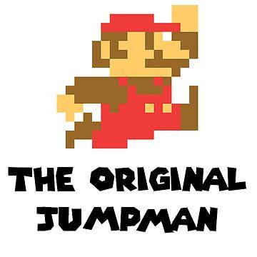 Mario - The Original Jumpman by topnotchtees