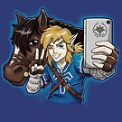 Hylian Selfie by andresMvalle