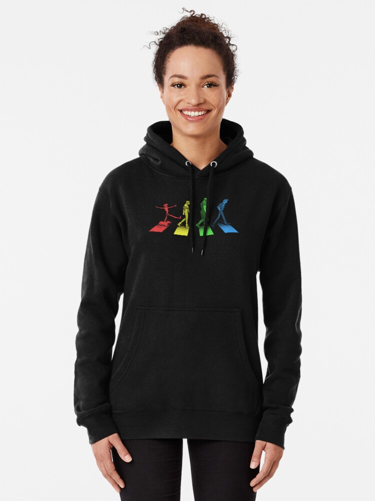Alternate view of Stray Dog Strut Pullover Hoodie