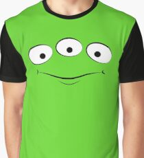 Toy Story Alien - Smirk Graphic T-Shirt