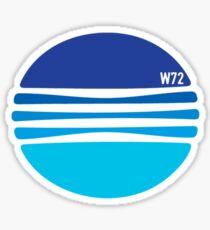 A wonderful Blue globe T-shirt Sticker