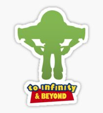 Buzz Lightyear: To Infinity & Beyond - Coloured Sticker