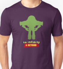 Buzz Lightyear: To Infinity & Beyond - Coloured Unisex T-Shirt