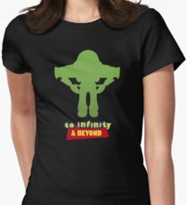 Buzz Lightyear: To Infinity & Beyond - Coloured Women's Fitted T-Shirt