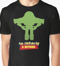 Buzz Lightyear: To Infinity & Beyond - Coloured Graphic T-Shirt