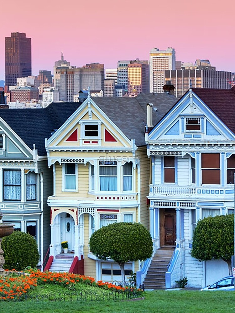 San Francisco Painted Ladies by glucern