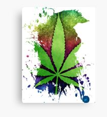 Pot Leaf Canvas Print