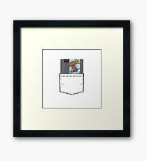 Mario 2 - NES Pocket Series Framed Print