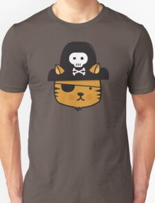 Pirate Cat - Jumpy Icon Series Unisex T-Shirt