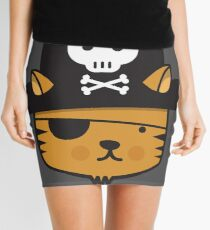 Pirate Cat - Jumpy Icon Series Mini Skirt