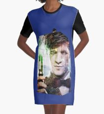 The Doctor Graphic T-Shirt Dress
