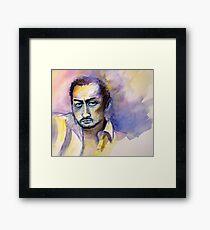 Ken Watanabe Framed Print