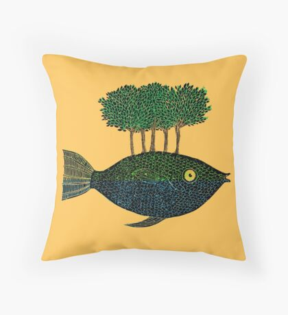 This Island Earth Throw Pillow