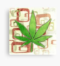 Marijuana Canvas Print
