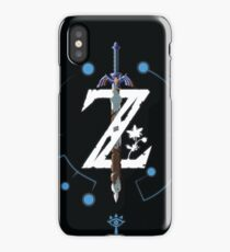 The Legend of Zelda: Breath of The Wild Print iPhone Case/Skin